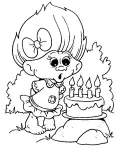 troll coloring pages troll coloring pages for kids print and color the pictures - Color Drawing Book