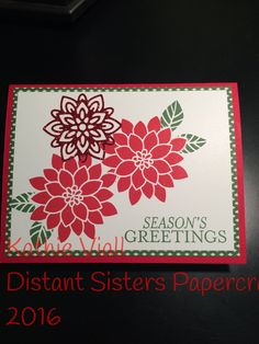 Stampin up flourishing phrases for christmas