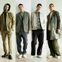 Hot trends in #menswear MILITARY, WIDE LEGGED PANTS,  FITTED KNITWEAR, WORKWEAR,  BLAZER STYLE LAPELS,  salvy;'s 2016 Fall/Winter Lookbook Incorporates Understated and Muted Style    #Japanesestreetwear #mensouterweartrends   I#sseyMiyake #HirokazuGoh #streetwear #streetluxe #dandy #bespoke #mensfashiontrends #dandystyle #dapper #mensfashionnetwork #mensfashiontrends #gq #complex #hypebeast #urban #cyclists #mensstyle #hiphopclothing #japanesedesigners #japanesebrands