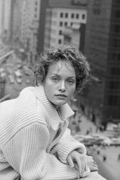 AMBER VALLETTA, HARPER'S BAZAAR, NEW YORK CITY © Peter Lindbergh | L'Insensé Photo #photographie #photography