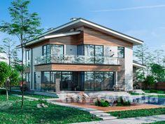 TMV 46   Двухэтажные дома   TMV - Дома для Всех, Проекты домов и проекты коттеджей - купить и заказать проект Киев Украина