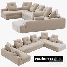 Roche Bobois PREFACE Modular sofa