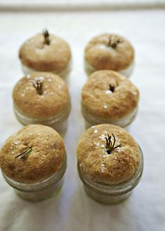 Herb Rolls Baked in a Jar recipe - perfect for your holiday table, an delicious!