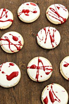 Bloody Sugar cookies {Jason viene a cenar}