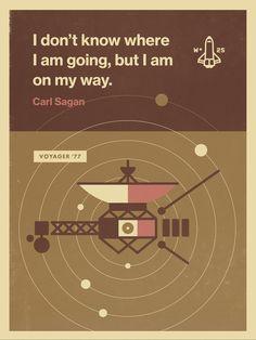 Carl Sagan - Voyager