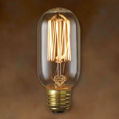 Vintage Antique Light Bulb - T14 - 40W