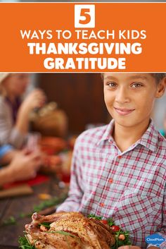 How do you encourage your kids to be thankful? Great list of ideas and activities for how to teach kids to be grateful this Thanksgiving. Here are 5 fun ways to teach kids thanksgiving gratitude!