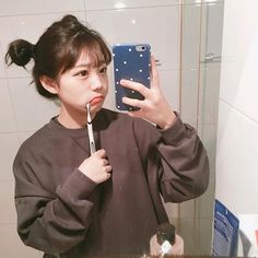 ulzzang girl images, image search, & inspiration to browse every day. Uzzlang Girl, Girl Face, Korean Ulzzang, Korean Girl, Kawaii Fashion, Pop Fashion, Cosmos Girls, Ulzzang Fashion, Korean Fashion