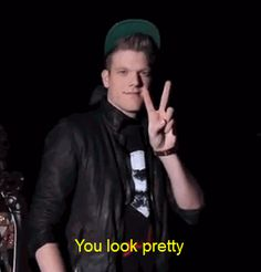 If you're ever having a bad day, Here's Scott Hoying telling you that you look pretty