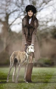 - wish i looked this cute with my brindle greyhound!... He, of course, always looks this gorgeous!~