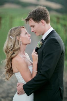 Cline Cellars Sonoma by Troy Grover Photographers | Orange County Husband and Wife Film Wedding Photographers - I love how this bride really had two different hairstyles!