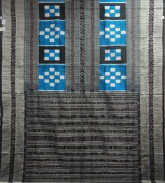 Dodger Blue & Black Colour Sambalpuri Silk Saree(31019/A/1054)   Priyadarshini Handloom,Odisha(Dodger Blue & Black Colour Sambalpuri Silk Saree)   Priyadarshini   No.1 Odisha Weavers Organisation