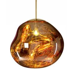 Lámpara colgante TOM DIXON Melt Mini oro EU #iluminacion #diseño #interiorismo
