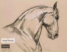 Equine Art: Deborah Day on Cavalcade