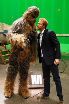 Chewie and Harry!