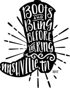 Nashville Bachelorette Shirt Digital Download Cricut SVG