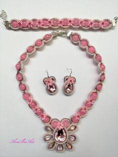 Shop powered by PrestaShop Soutache Jewelry, Charmed, Bracelets, Pink, Fashion, Moda, Fashion Styles, Fasion, Bracelet