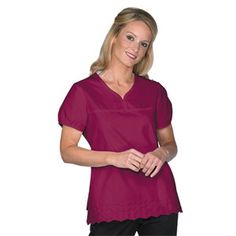Embroidery Hem Top by Laura Ashley