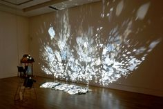 Click on image to find original website I have referenced this artist I came across because of the link between light and mirrors and the reflections those mirrors make. O'Callaghan has used a proj...