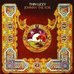 Thin Lizzy - Johnny The Fox LP Record Album On Vinyl