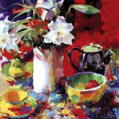 Morning Tea by Peter Graham