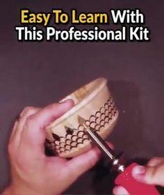 Diy Projects Videos, Diy Crafts Videos, Diy Videos, Wood Burning Crafts, Wood Crafts, Easy Diy Crafts, Fun Crafts, Diy Storage Table, Puzzle Crafts