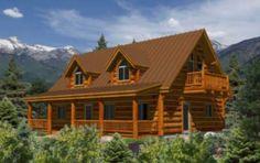 Clark Floor Plan @ Avalon Log Homes