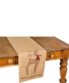 This Rustic Reindeer Table Runner by Xia Home Fashions is perfect! #zulilyfinds