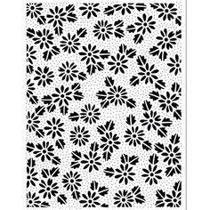 Sue Wilson Pinpoint Embossing Folder Dotted Daisies 190 X Sue Wilson Dies, Gilding Wax, Expressions, Embossing Folder, Stencils, Daisy, Card Making, Scrapbook, Floral