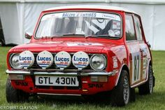 Mini Clubman, equipped for rallying. Antibes, Classic Mini, Classic Cars, Lucas Lucas, British Open, Mini Clubman, Mini Cooper S, Rally Car, Old Cars