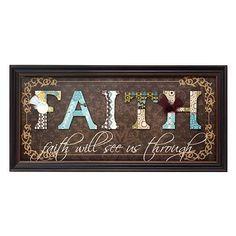 Kirkland's: Faith Scrapbook Shadowbox  I GOTTA HAVE THIS!!!