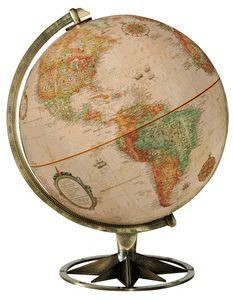 Compass Rose World Globe by Replogle Globes