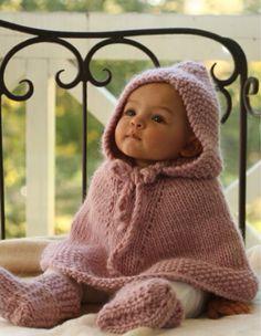 poncho para bebe