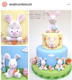 Cupcakes ideas easter birthday parties 51 ideas for 2019 Easter Cake Fondant, Easter Cupcakes, Easter Cookies, Fondant Cakes, Cupcake Cakes, Easter Bunny Cake, Bunny Birthday Cake, Easter Birthday Party, Birthday Parties