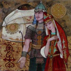 Tengritagh Akademiyesi Image Glass, David, Julia, Mosaic Art, Techno, Fairy Tales, Princess Zelda, Artist, Fictional Characters