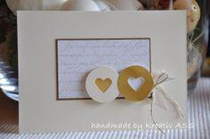schlicht in gold – zur Hochzeit