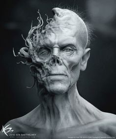 I wanted to share a concept I did for ''The Death Cure'' Film. My main task was to design the unusual and dangerous character Lawrence, played. Maze Runner: The Death Cure - Lawrence Concept Creature 3d, Creature Design, Zbrush, Tree Tattoo Foot, Maze Runner Death Cure, Runner Tattoo, Shadow Creatures, Monster Tattoo, Legendary Pictures