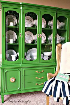 Green - UPDATE IDEA FOR CHINA CABINET