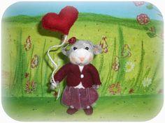 Susannelfes Blumenkinder für den Jahreszeitentisch: Die Maus am Mittwoch war ganz traurig,...
