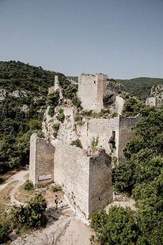 Château d' Oppède le vieux, luberon