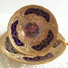 Aynsley Bailey Tea Cup and Saucer