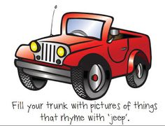 Sheep In a Jeep Speech and Language