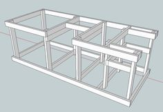Ultimate Tool Stand / Workbench - Page 2 - Woodworking Talk - Woodworkers Forum Workbench Plans Diy, Building A Workbench, Workbench Designs, Mobile Workbench, Woodworking Bench Plans, Woodworking Supplies, Wood Plans, Woodworking Projects Diy, Diy Wood Projects