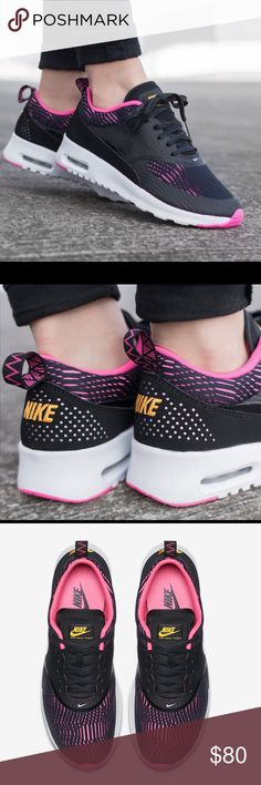 Nike Air Max Thea EM Lightweight upper with leather and synthetic overlays for support. Minimal Air Max with ultra light cushioning. New with original box. ♦️No trades, the price is firm unless bundled. Nike Shoes Athletic Shoes