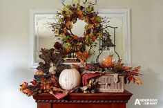 Mixing Styles to Create an Interesting Fall Display