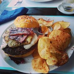 Pineapple and Bacon Burger - Grilled pineapple, crispy bacon, mozzarella. Photo: Instagram client