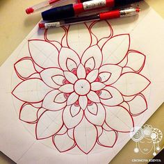 Будет красная ❤️❤️❤️ #мандала #графика #орнамент #узор #gr…   Flickr