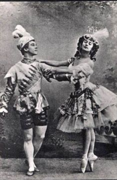 Anna #Pavlova & Vaslav #Nijinsky in the Le Pavillon d'Armide Ballet in one act with #choreography by #Fokine, libretto and designs by #Benois, and music by N. Tcherepnin. Premiered Nov. 25, 1907 at the #Maryinsky Theatre in St. Petersburg.
