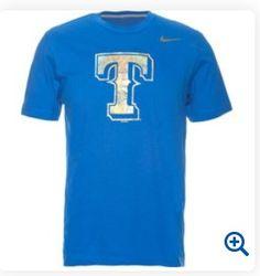 texas rangers nike shirt