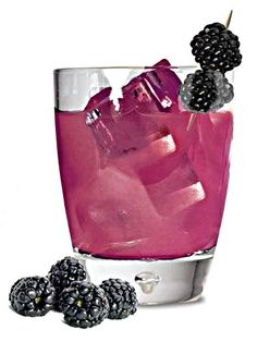 Bourbon Street Blackberry Brut. Tequila, champagne, and blackberries. Cheers to Mardi Gras!!